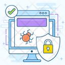 Antivirus Security Icon
