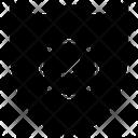 Antivirus Shield Protection Defence Icon