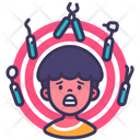 Boy Child Fear Icon