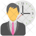 Anxious Businessman Icon