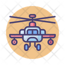 Apache Helicopter Chopper Helicopter Aircraft Icon