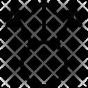 Apart Arrow Icon