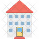 Cottage Apartment Home Icon