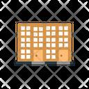 Apartment Building Hostel Icon
