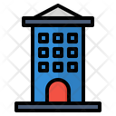 Apartment Building Office Icon Icon