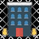 Building Apartment Hostel Icon