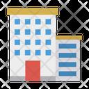 Apartment Building Plaza Icon