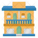 Apartment Property Real Icon