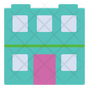Apartment Building House Icon