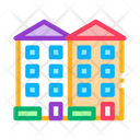 Apartment Houses Building Icon