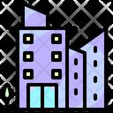 Estate Apartments Real Icon