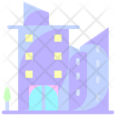 Apartment Residential Buildings Icon