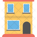 Apartment Residential Front Icon