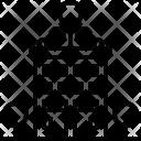 Apartment Tree Cover Icon