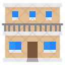Apartment Building Construction Icon
