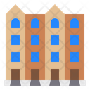 Apartment House Home Icon