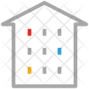 Apartment Building Residential Icon