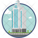 Apartment Office Construction Icon
