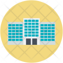 Apartment Highrise House Icon