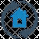 Apartment Arrows Icon