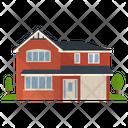 Apartment Building House Villa Icon