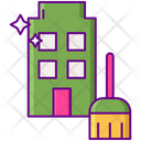 Apartment Cleaning Icon