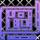 Apartment layout Icon