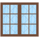 Apartment Window Icon
