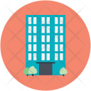 Apartments Building Flats Icon