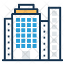 Building Apartments Residential Icon