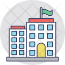 Multi Story Residential Icon