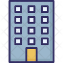 Apartments Block Of Flats Building Icon