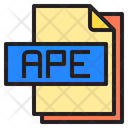 Ape File Format Type Icon