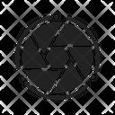 Aperture Lens Shutter Icon