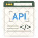 Api App Development Software Application Icon