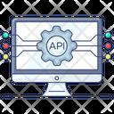 Api Interface App Development Software Application Icon