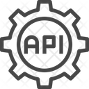 Api Development App Configuration Software Development Icon