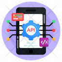 App Development Api Interface Application Programming Icon