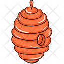 Apiary Bee Comb Beehive Icon