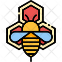 Apitherapy Bee Beehive Icon