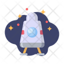 Apollo Astronaut Galaxy Icon