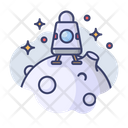 Landing Moon Apollo Icon