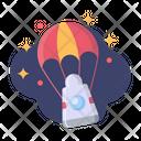 Parachute Apollo Galaxy Icon