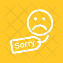 Apology Tag Sorry Icon