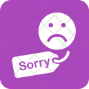Apology Tag Sorry Icon