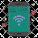 Mobile Phone Wifi Icon