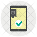 App Confirmation Courier Icon