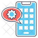 Mobile Setting Mobile Maintenance App Configuration Icon