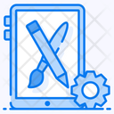 App Design App Development Mobile Setting Icon