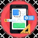 App Development Phone Settings App Design Icon